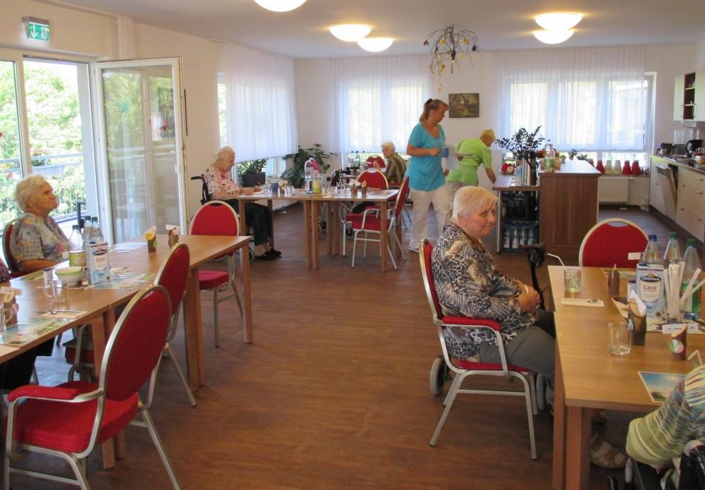 Restaurant Wohnbereich
