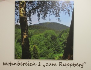"""Wohnbereich 1 """"Zum Ruppberg"""""""
