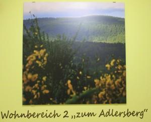 """Wohnbereich 2 """"Zum Adlersberg"""""""